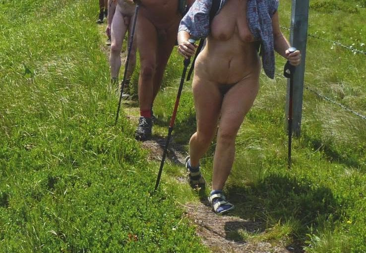 Nude Hiking