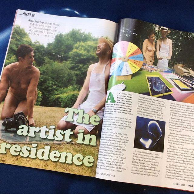 Naked Artist in Residence
